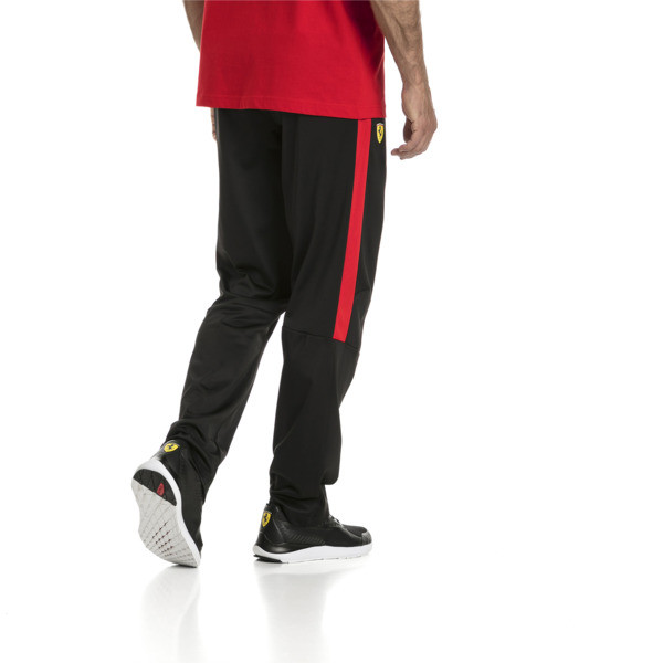 Ferrari Men's T7 Track Pants, Puma Black, large