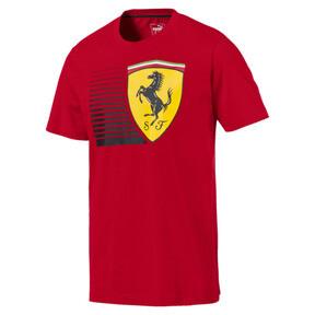 Thumbnail 1 of Scuderia Ferrari Men's Big Shield Tee, Rosso Corsa, medium
