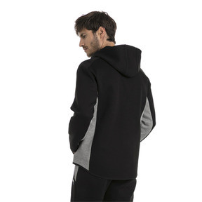 Thumbnail 3 of Ferrari Herren Kapuzen-Sweatjacke, Puma Black, medium