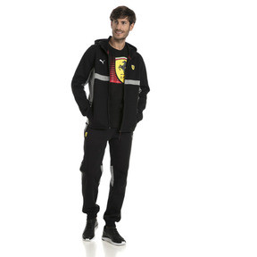 Thumbnail 5 of Ferrari Herren Kapuzen-Sweatjacke, Puma Black, medium