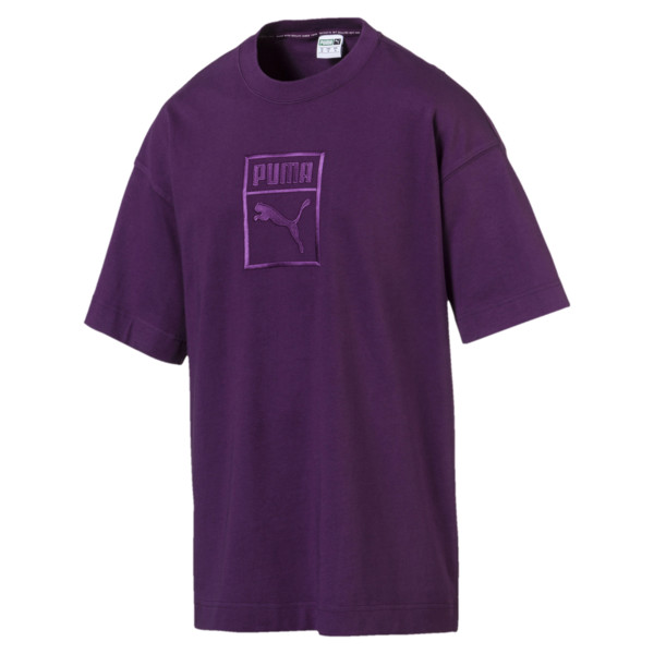 Downtown Men's Tee, Shadow Purple, large