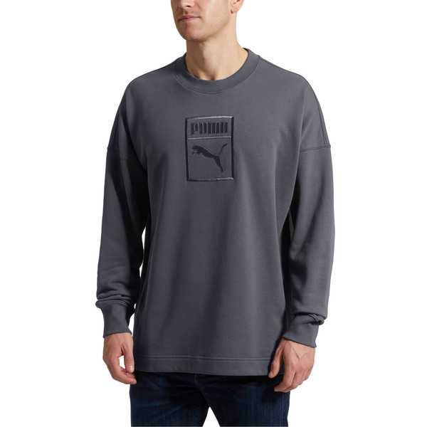 Classics Men's Downtown Sweater, Iron Gate, large
