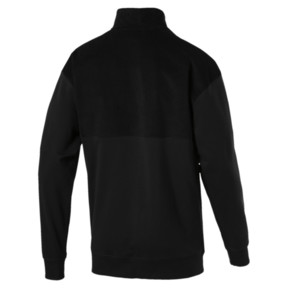 Thumbnail 3 of Downtown Half-Zip Sweatshirt, 01, medium
