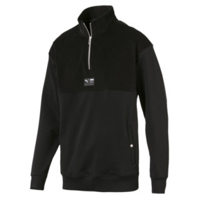 Thumbnail 1 of Downtown Half-Zip Sweatshirt, 01, medium