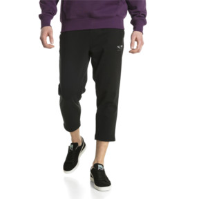 Thumbnail 2 of Downtown Cropped Men's Sweatpants, Puma Black, medium