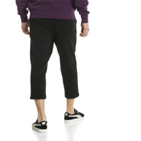 Thumbnail 3 of Downtown Cropped Men's Sweatpants, Puma Black, medium