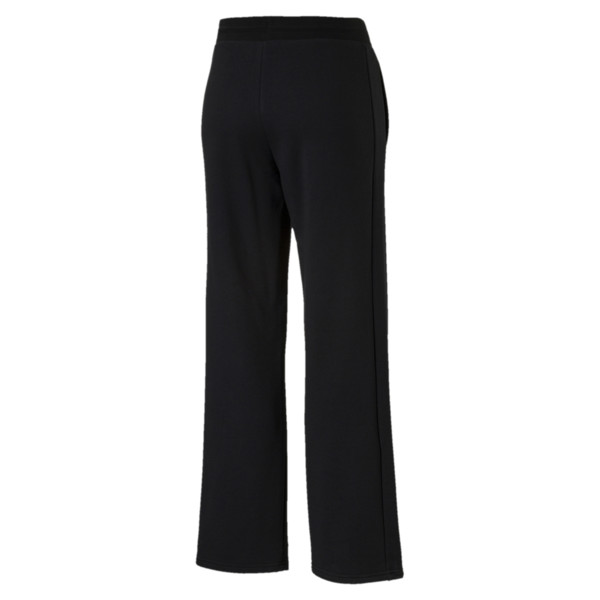 Classics T7 Straight Pants, Cotton Black, large