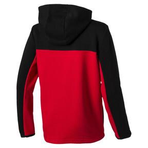 Thumbnail 2 of Scuderia Ferrari Kids Hooded Sweat Jacket, Puma Black, medium