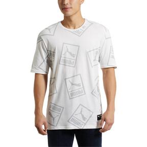 Thumbnail 2 of Graphic Downtown T-Shirt, Puma White, medium