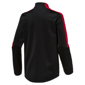 Thumbnail 2 of Scuderia Ferrari Kids T7 Track Jacket, Puma Black, medium