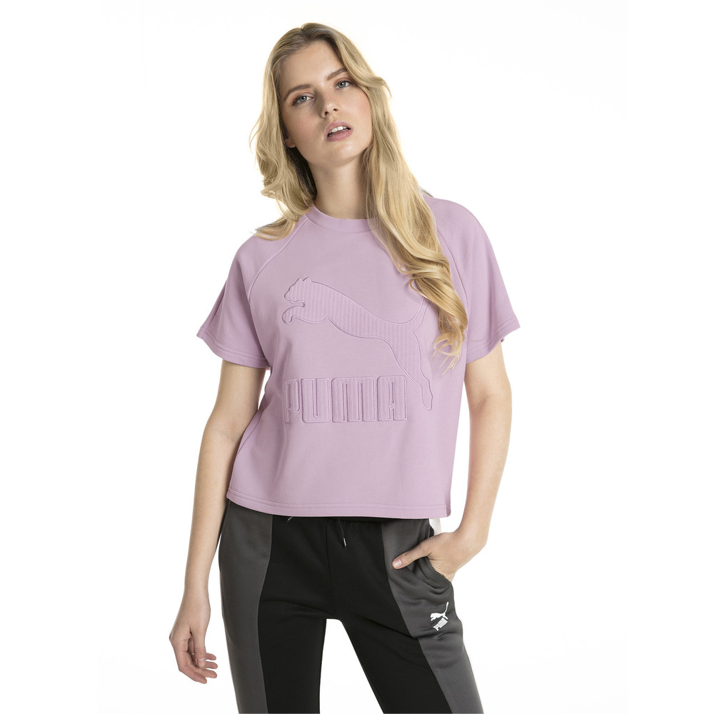 Image PUMA Downtown Structured Women's Tee #1