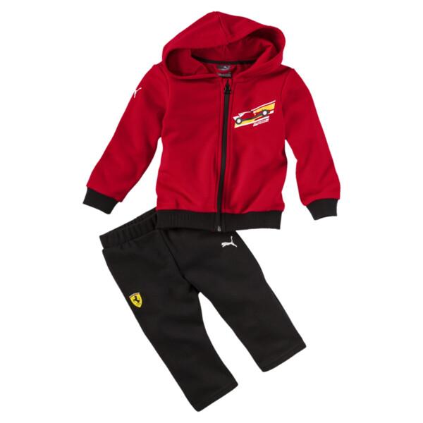 Set survêtement Ferrari pour bébé, Rosso Corsa, large