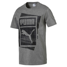 Thumbnail 1 of Graphic Brand Box T-Shirt, Medium Gray Heather, medium
