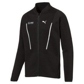 Thumbnail 1 of MERCEDES AMG PETRONAS Men's Sweat Jacket, Puma Black, medium