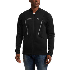 Thumbnail 2 of Mercedes AMG Petronas Men's Sweat Jacket, 01, medium