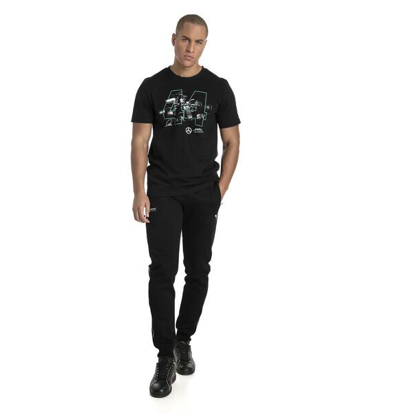 T-Shirt MERCEDES AMG PETRONAS Lewis Hamilton pour homme, Puma Black, large