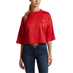 Thumbnail 2 of Retro Women's Crop Top, 12, medium