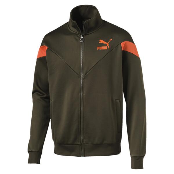 MCS Men's Track Jacket, Forest Night, large