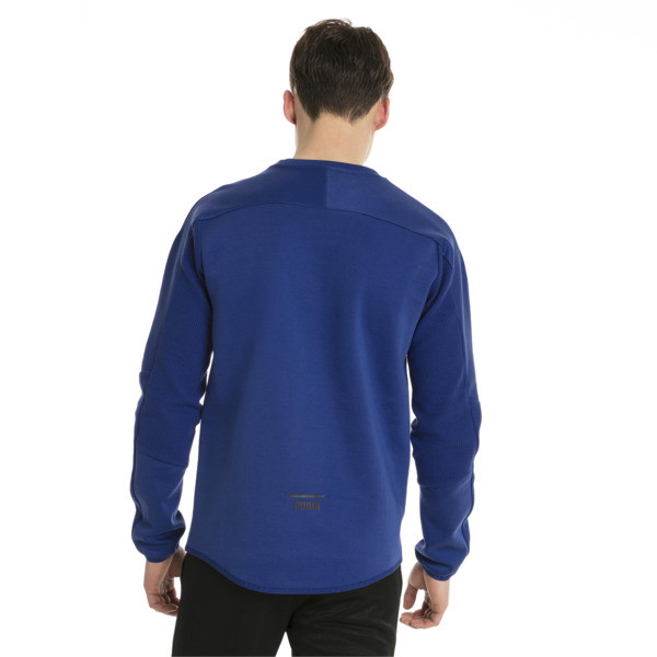 Pace Men's Crewneck Sweatshirt, Sodalite Blue, large