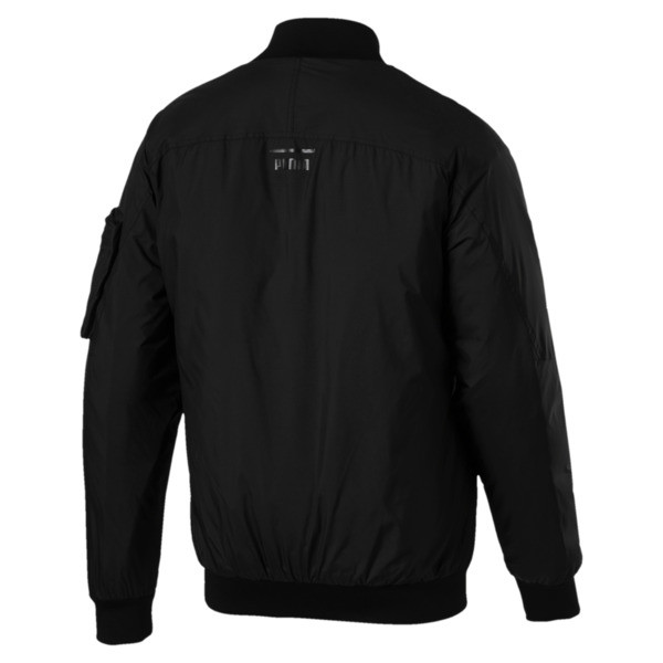 Pace Lab Zip-Up Down Men's Bomber, Puma Black, large