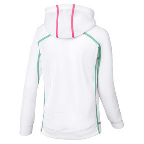 Thumbnail 2 of Chase Spacer Zip-Up Women's Hoodie, Puma White, medium