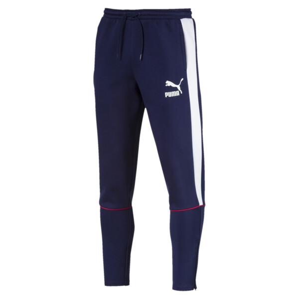 Retro Double Knit Men's Sweatpants, 06, large