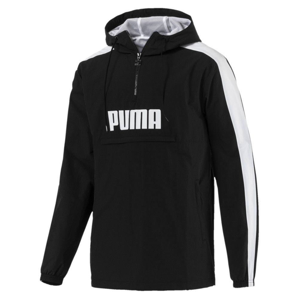 Image PUMA Archive Men's Retro Half Zip Windbreaker #1
