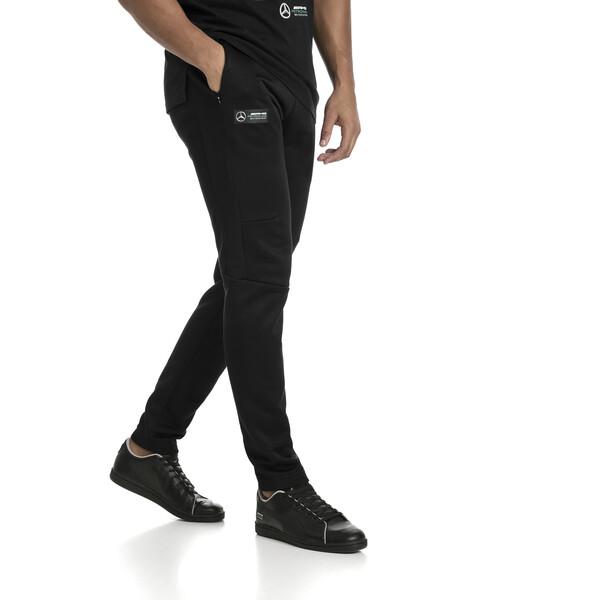 MERCEDES AMG PETRONAS Men's T7 Track Pants, Puma Black, large
