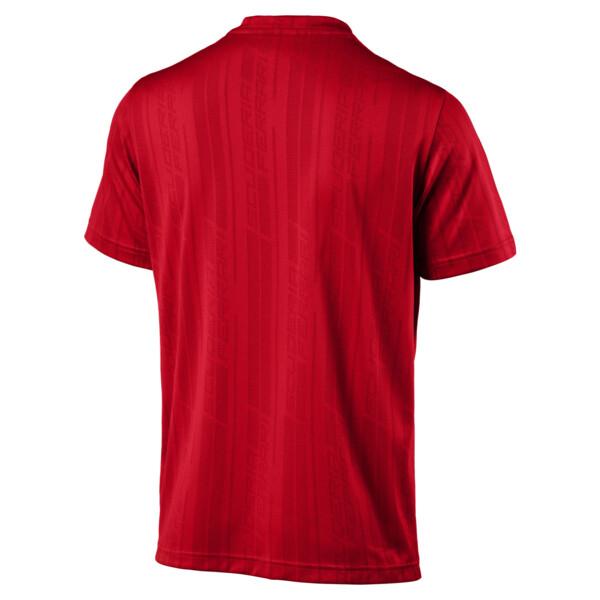 Puma - Ferrari Herren Jacquard T-Shirt - 9