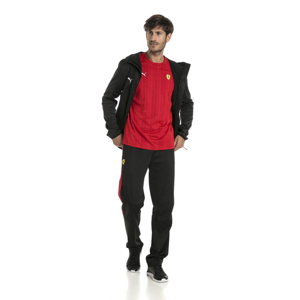 Puma - Ferrari Herren Jacquard T-Shirt - 10