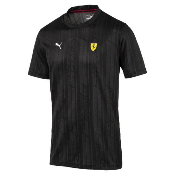 Puma - Ferrari Herren Jacquard T-Shirt - 6
