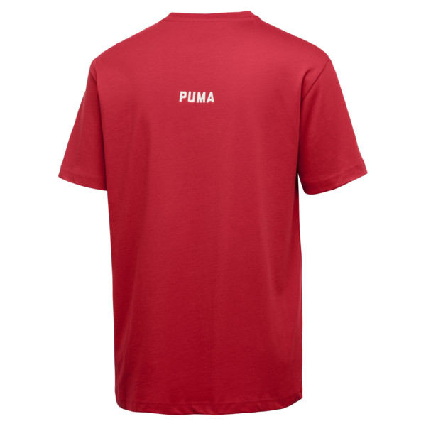 PUMA x OUTLAW MOSCOW Men's Crewneck Tee, Ribbon Red, large