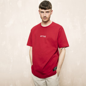 Thumbnail 2 of PUMA x OUTLAW MOSCOW Men's Crewneck Tee, Ribbon Red, medium