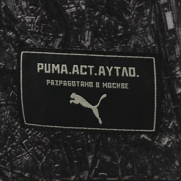 PUMA x OUTLAW MOSCOW TEE, Puma Black-AOP, large-JPN