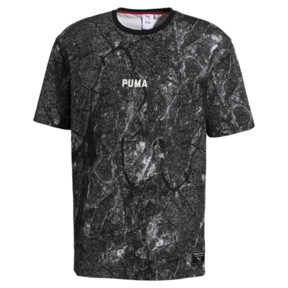 Thumbnail 1 of PUMA x OUTLAW MOSCOW TEE, Puma Black-AOP, medium-JPN