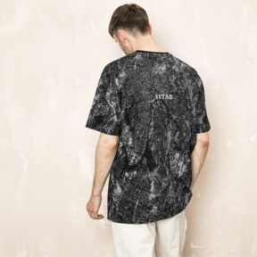 Thumbnail 3 of PUMA x OUTLAW MOSCOW TEE, Puma Black-AOP, medium-JPN