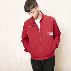 Thumbnail 2 of PUMA x OUTLAW MOSCOW Zip-Up Men's Track Top, Ribbon Red, medium