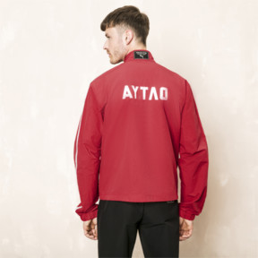 Thumbnail 3 of PUMA x OUTLAW MOSCOW Zip-Up Men's Track Top, Ribbon Red, medium