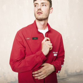 Thumbnail 6 of PUMA x OUTLAW MOSCOW Zip-Up Men's Track Top, Ribbon Red, medium