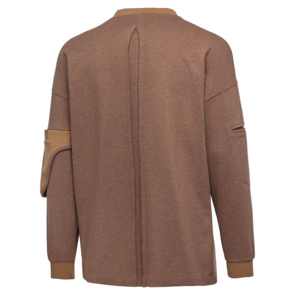 PUMA x HAN KJØBENHAVN Long Sleeve Men's Shirt, Almond Heather, large