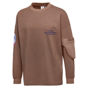 Thumbnail 1 of PUMA x HAN KJØBENHAVN Long Sleeve Men's Shirt, Almond Heather, medium