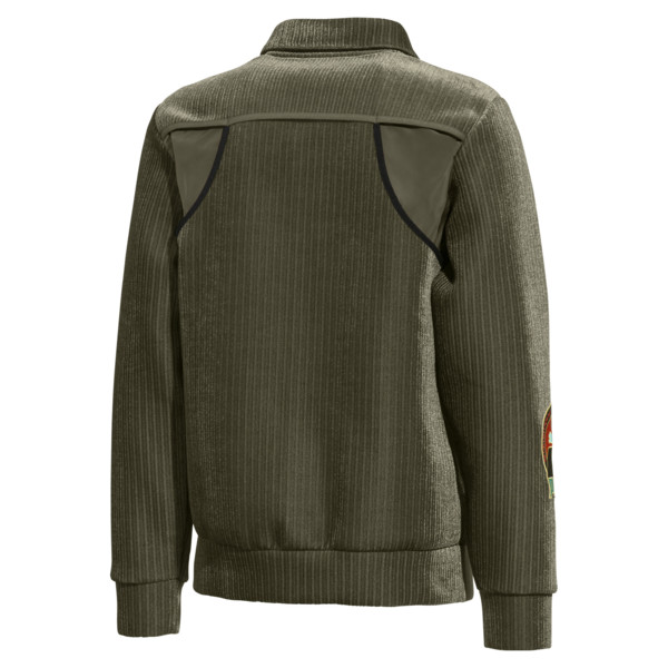 PUMA x HAN KJØBENHAVN Zip-Up Men's Bomber Jacket, 77, large