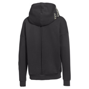 Thumbnail 4 of PUMA x HAN KJØBENHAVN Half Zip Hoodie, Phantom Black, medium