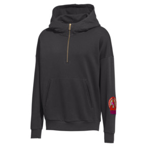 Thumbnail 1 of PUMA x HAN KJØBENHAVN Half Zip Hoodie, Phantom Black, medium
