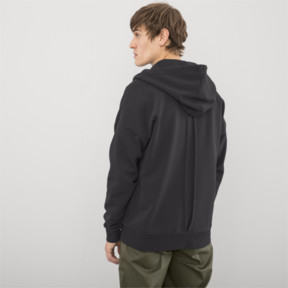 Thumbnail 3 of PUMA x HAN KJØBENHAVN Half Zip Hoodie, Phantom Black, medium