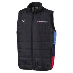 Thumbnail 1 of BMW M Motorsport Men's Padded Vest, Anthracite, medium