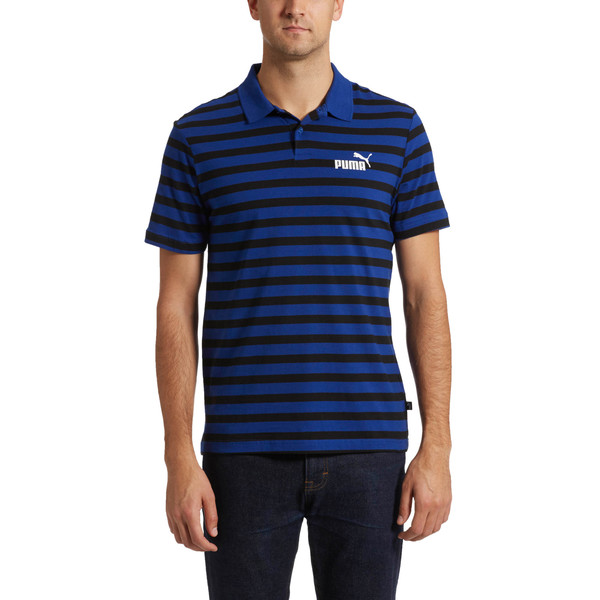 Essentials+ Stripe J. Polo, Sodalite Blue, large