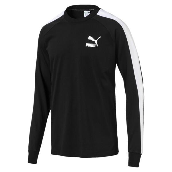 Classics T7 LS T-Shirt, Puma Black, large