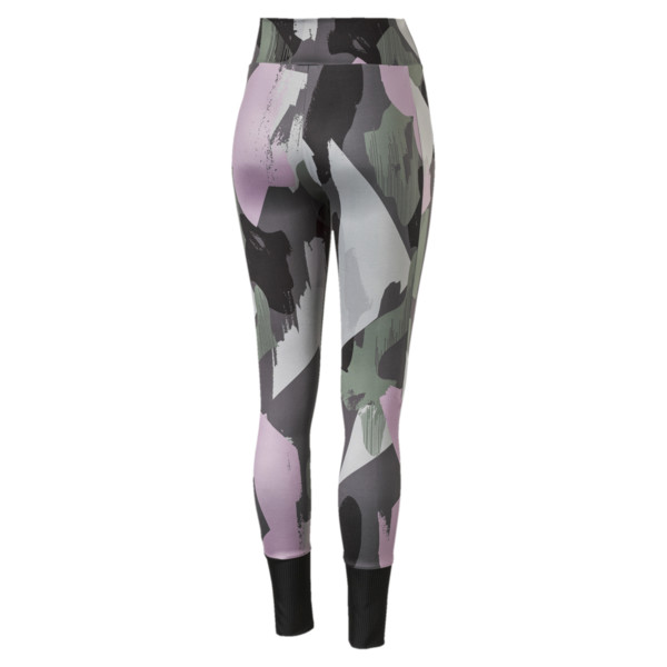 Chase All-Over Print Women's Leggings, Iron Gate, large