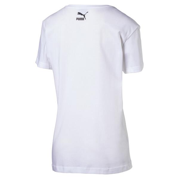 Evolution Women's Logo T-Shirt, Puma White, large